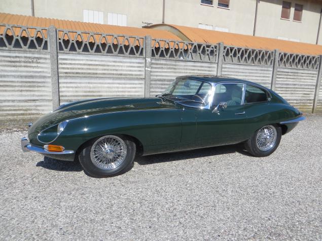 Jaguar E type 4.2 coupe serie 1.5